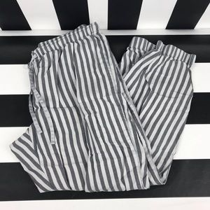 5 for $25 Victorias Secret Gray Striped Jogger Pjs